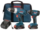 Bosch 18V 2-tool Litheon� Combo Kit