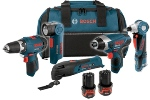 Bosch CLPK50-120 12V Litheon 5 Tool Combo Kit