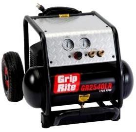 how to use porter cable air compressor to fill tires