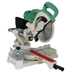 "Hitachi C10FSH 10"" Laser Guided ,Sliding, Dual Compound Miter Saw"