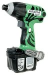 Hitachi WH14DL 14.4vLith-Ion Impact Driver Kit w/free 3rd battery!