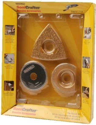 Rockwell Sonicrafter Tile Kit RW9171K